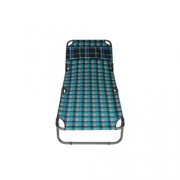 Giường xếp vải bố - F1 (Hoa văn sọc)